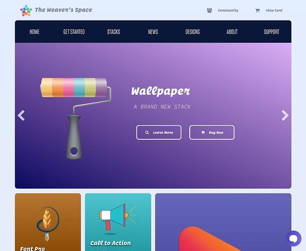 weavers-space-homepage