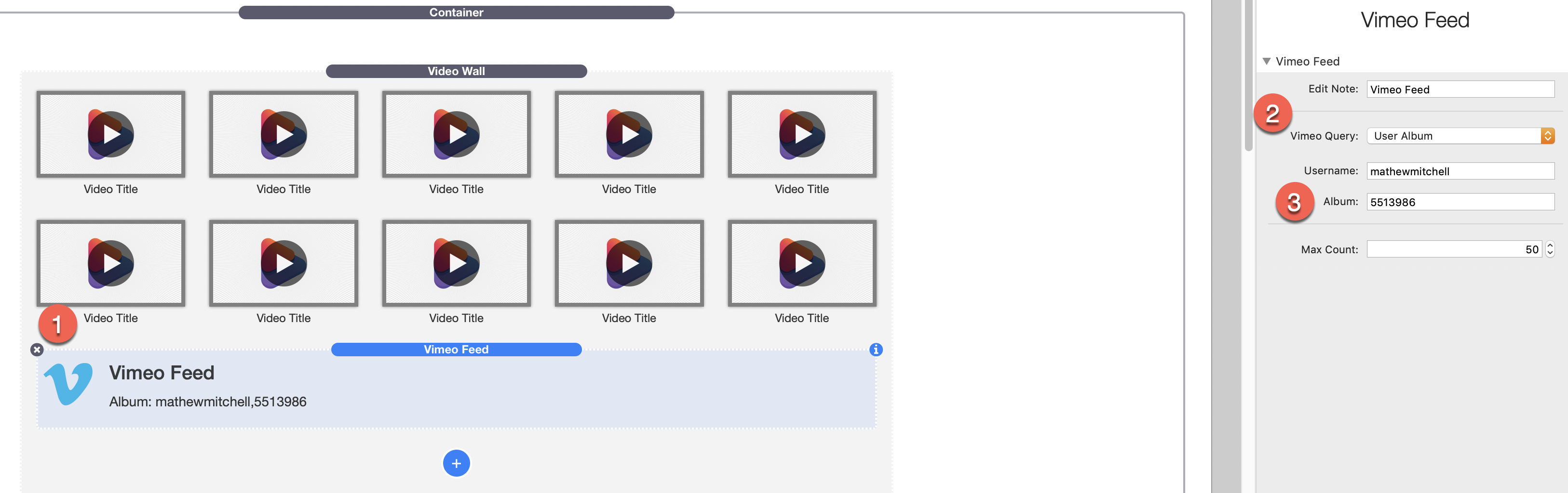 Reorder videos in video wall vimeo stack - Stacks - RapidWeaver Forums