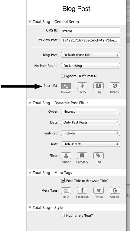 Blog posts are set with incorrect URL - Stacks - RapidWeaver Forums