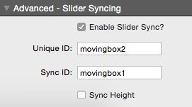 MovingBox Slider Syncing Settings